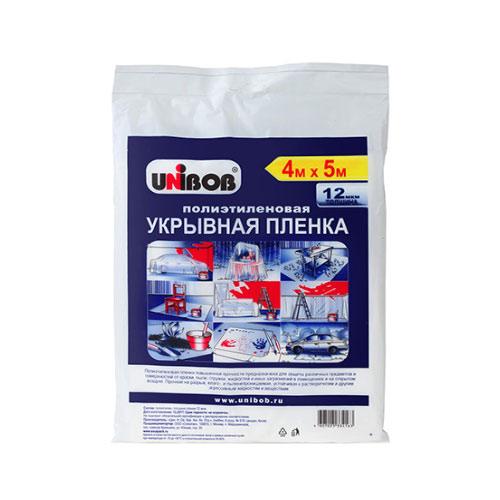 Пленка защитная Unibob 12 мк 4х5 м (20 кв.м)
