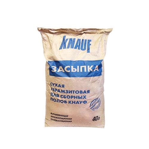 Керамзитовая засыпка фракция 0-5 мм 0,04 куб.м Knauf